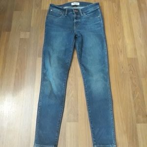 High Rise Madewell Skinny Jeans